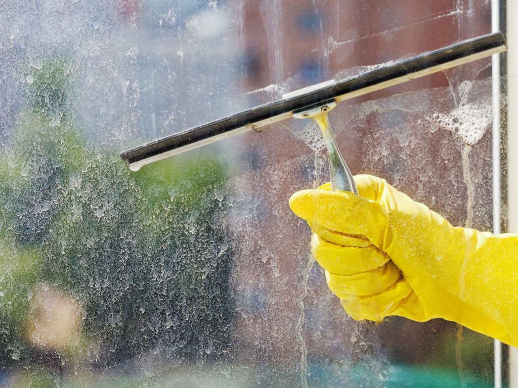 squeegee-used-to-clean-windows